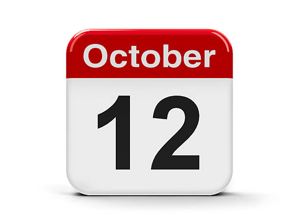12th October stock photo