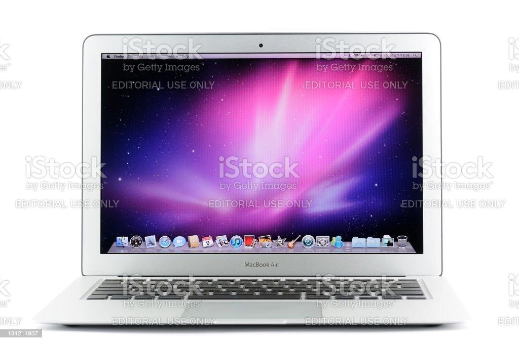 13-inch MacBook Air royalty-free stock photo
