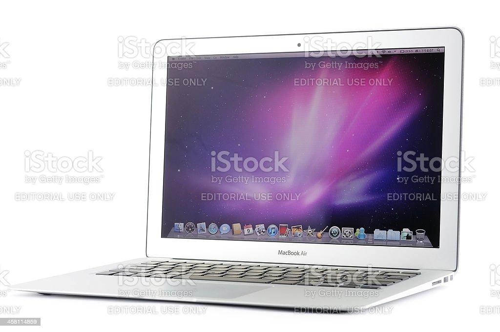 13-inch MacBook Air stock photo