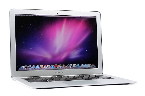 MacBook Air 13 pulgadas - foto de stock