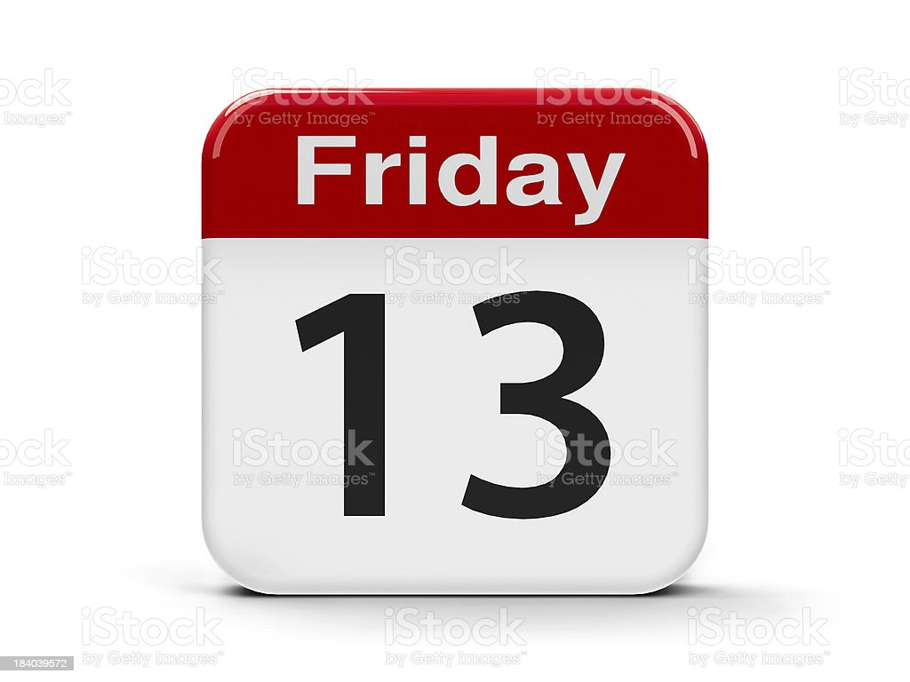 13th Friday royalty-free stock photo