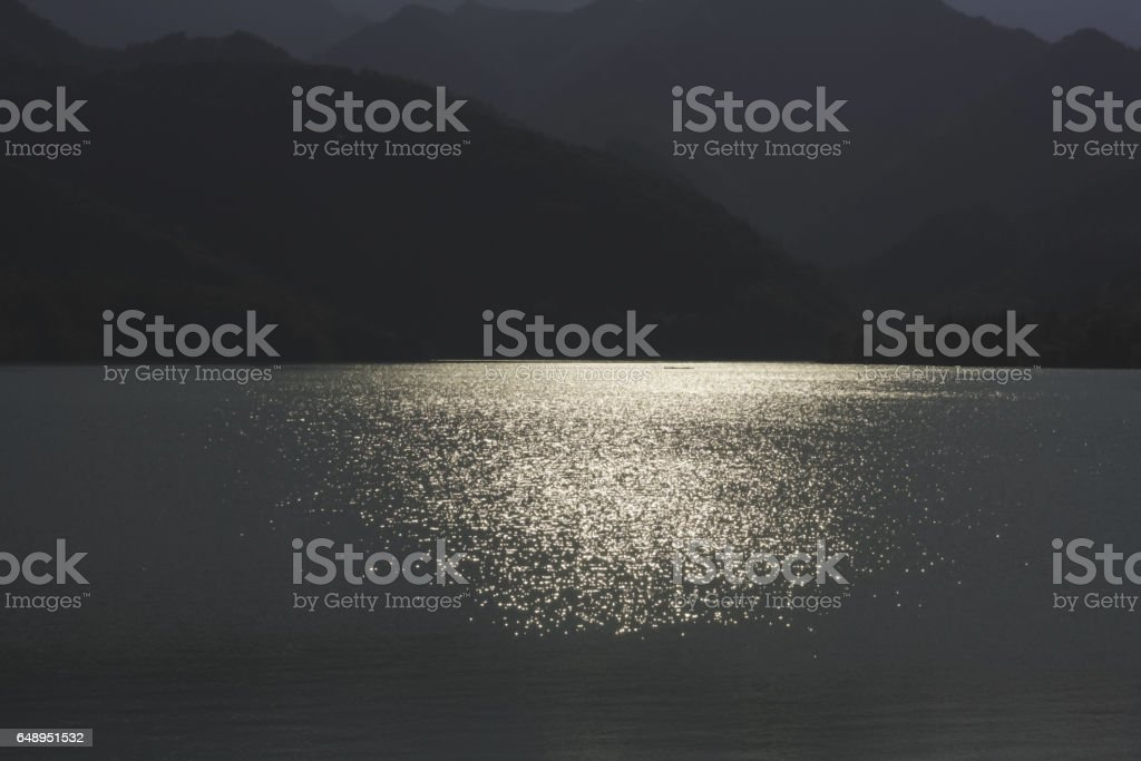 142_Barcis Lake stock photo
