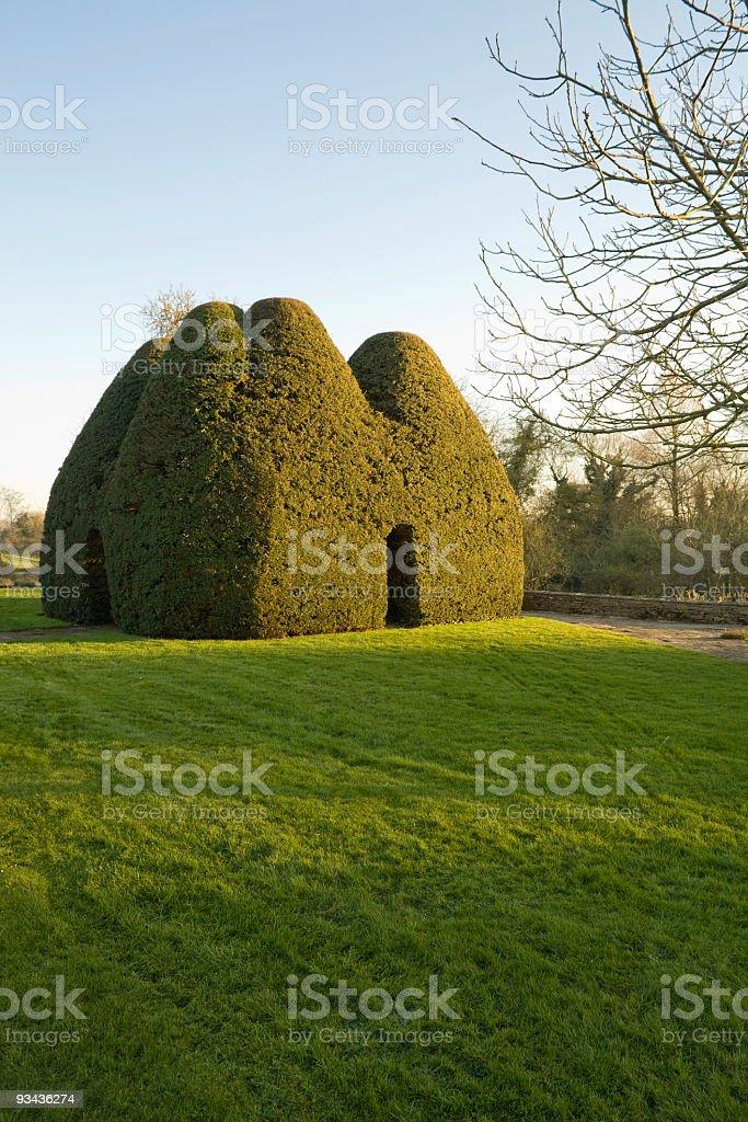 14. Jahrhundert Gartenanlage Lizenzfreies stock-foto