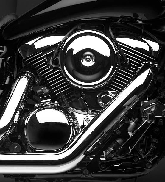 1600cc V-Twin stock photo