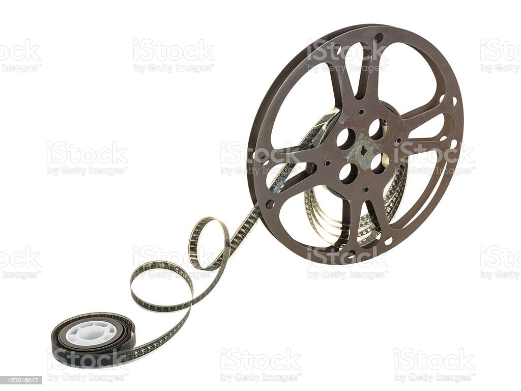 16mm Film Reel 13 stock photo