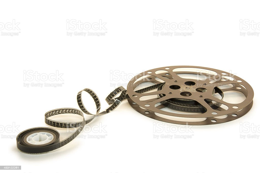 16mm Film Reel royalty-free stock photo