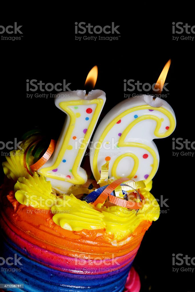 16th Birthday Cake Stock Photo More Pictures Of 16th Birthday Istock