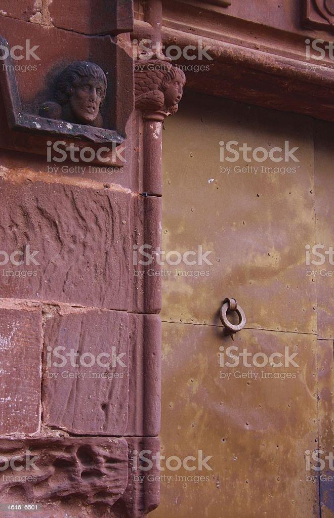 16th century church royalty-free stock photo