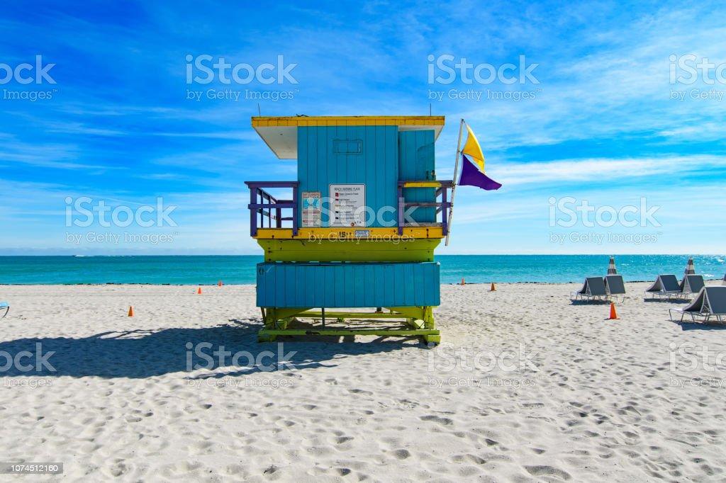 16th Street Rettungsschwimmer Station, Miami Beach – Foto