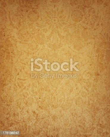 17th century floral paper design stock photo more pictures of 17th