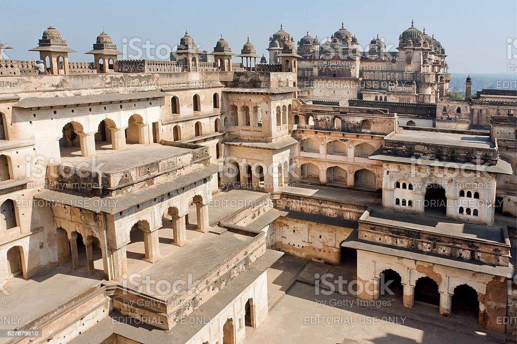 17th century indo-islamic style palace Jahangir stock photo