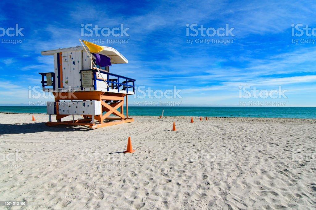17th Street Rettungsschwimmer Station, Miami Beach – Foto