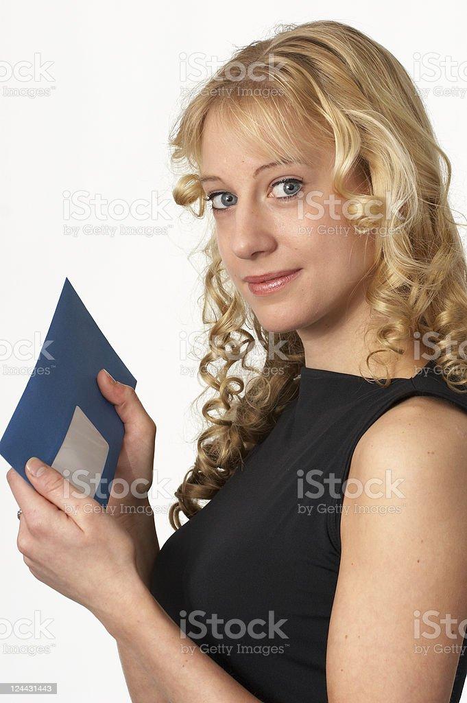 I´ve got a letter ! royalty-free stock photo