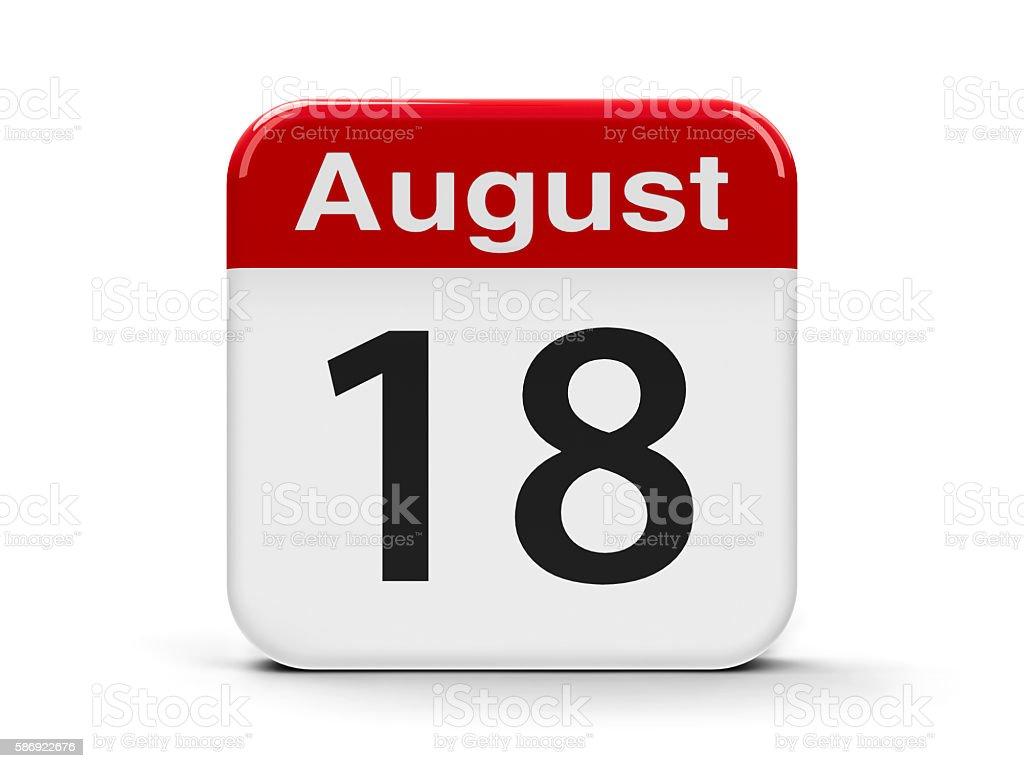 18th August - foto de acervo