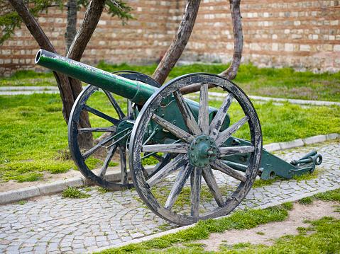 18th Century Cannon (selective focus)