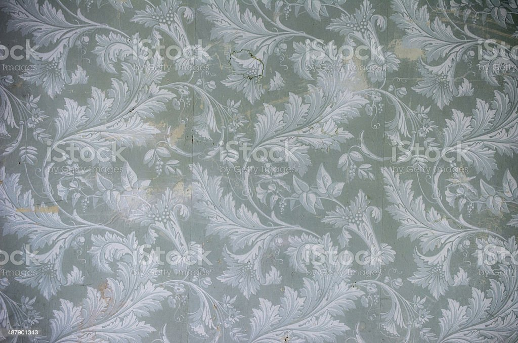 18th Century Wallpaper royalty-free stock photo