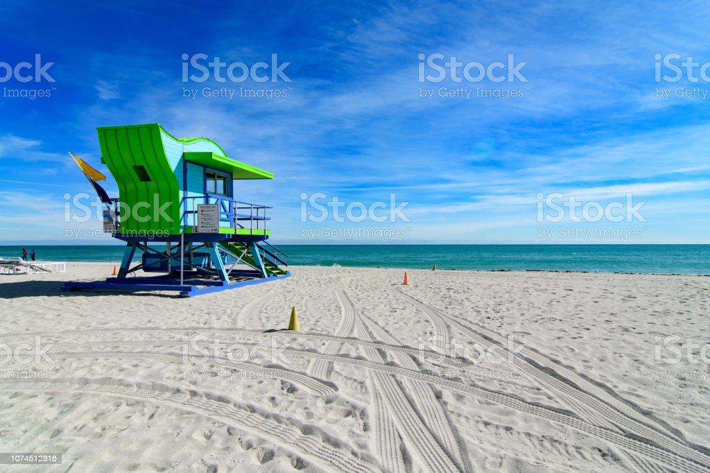 18th Street Rettungsschwimmer Station, Miami Beach – Foto