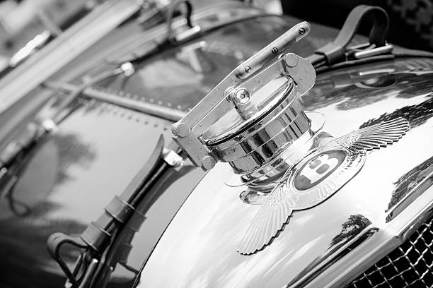 1920s Bentley classic car stock photo