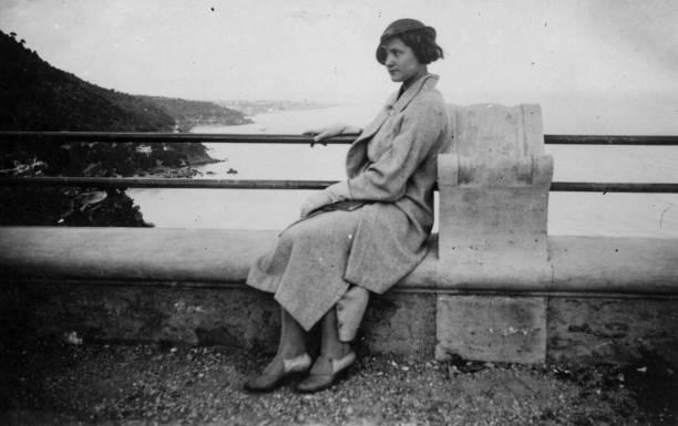 1930s. Alassio Liguria Italy stock photo