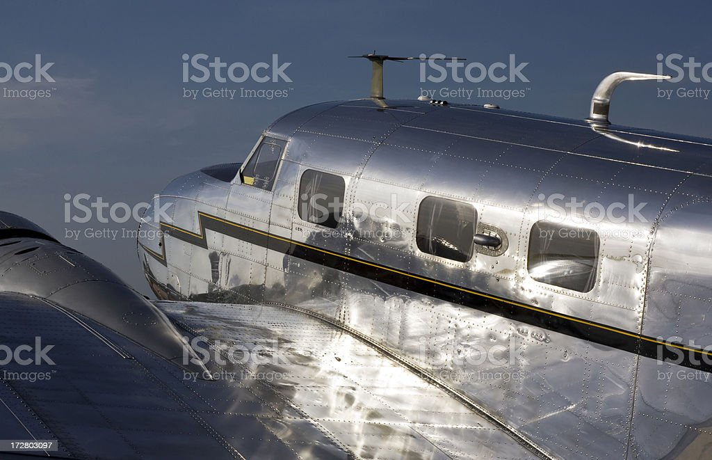 1930s Era Lockheed Electra L-10 Aircraft Amelia Earhart stock photo
