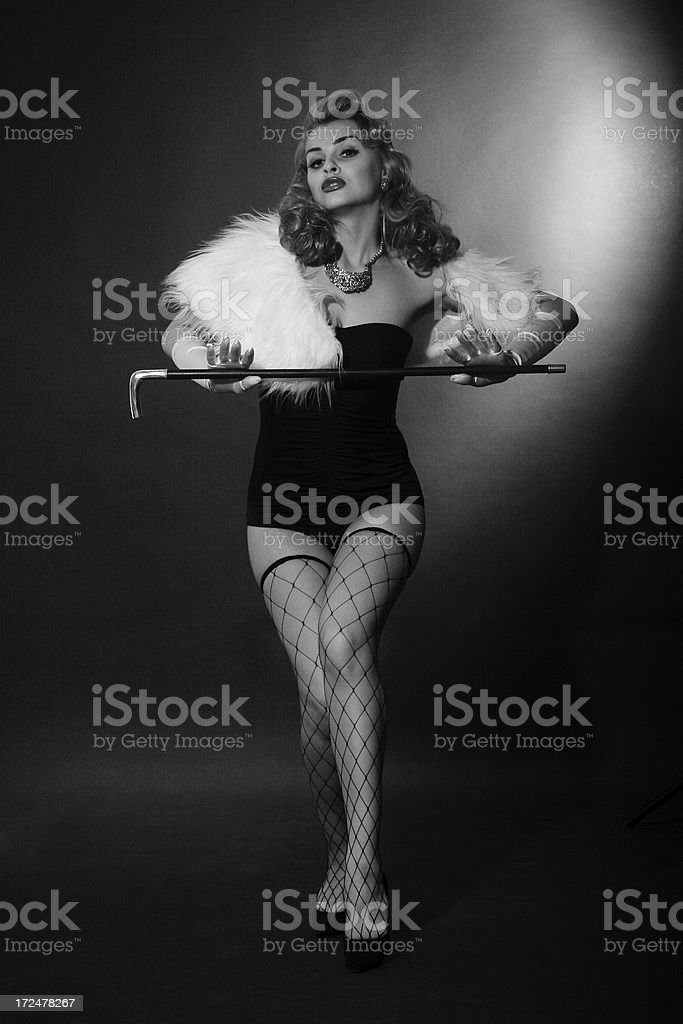 1940s style. Tricks and traps. royalty-free stock photo