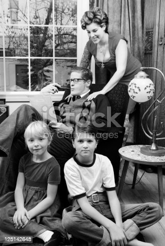 57520540 istock photo 1950s Nuclear Family 125142648