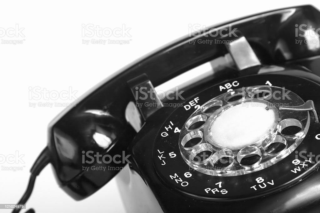 1960s telephone stock photo