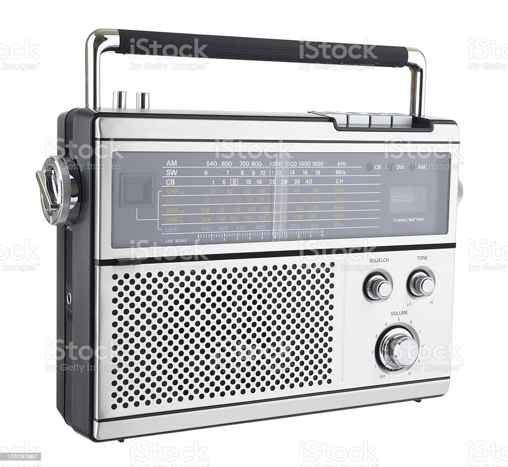 1970s Radio stock photo
