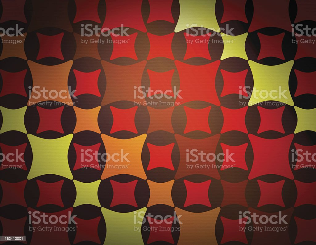 1970s Style Wallpaper royalty-free stock photo