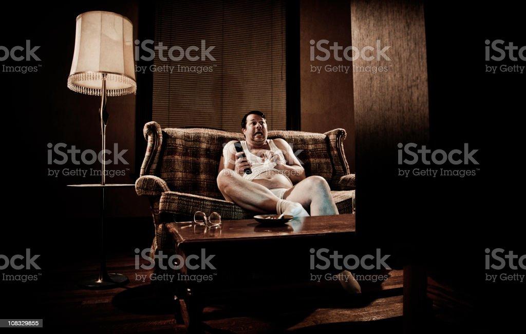 1970s White Trash stock photo