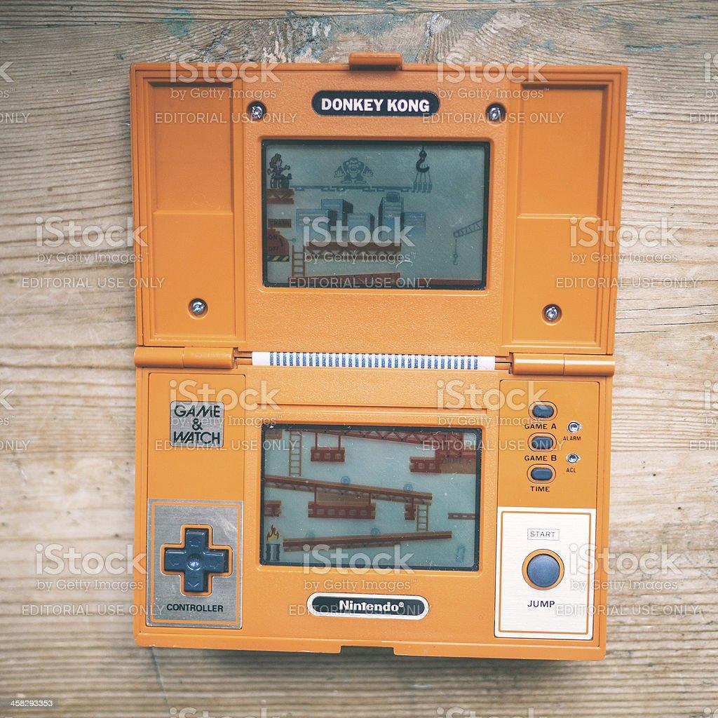 1980s Nintendo. stock photo