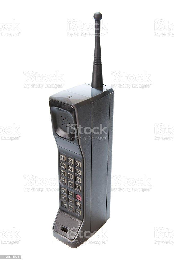 1980s Retro Cell Phone royalty-free stock photo