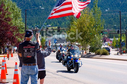 istock 19th annual Salute to American Veterans Rally 459229835