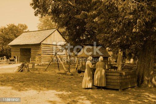 istock 19th Centruy Farm 115919101