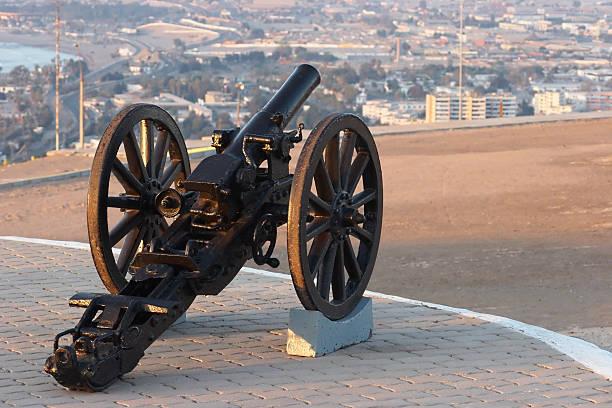 19 세기 cannon 스톡 사진