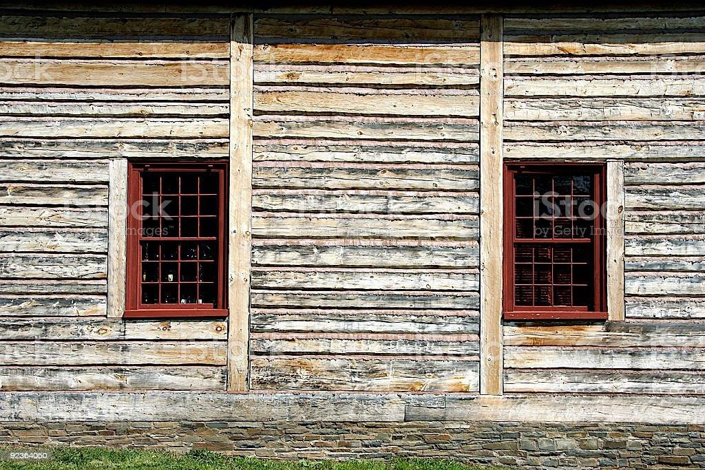19th Century Windows royalty-free stock photo