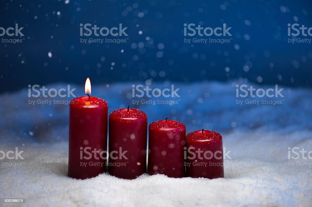 1st Advent stock photo