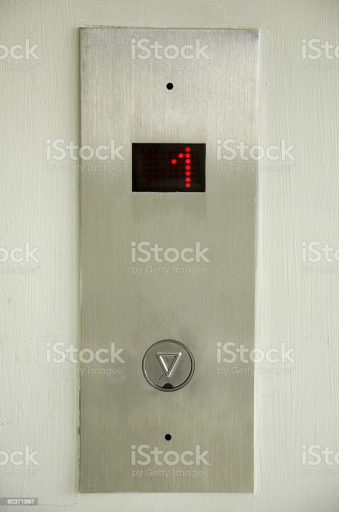 1st Floor royalty-free stock photo