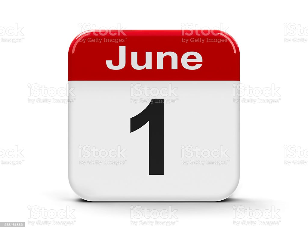 1st June stock photo