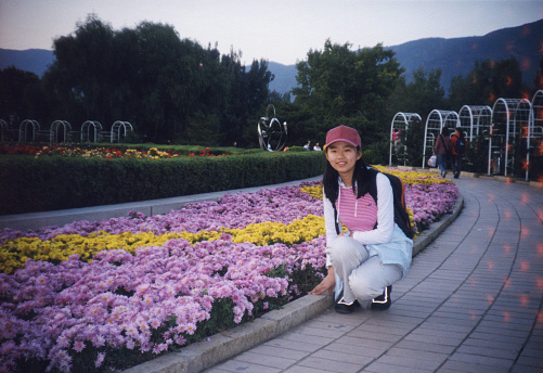 2000s China Young Girl Photos of Real Life