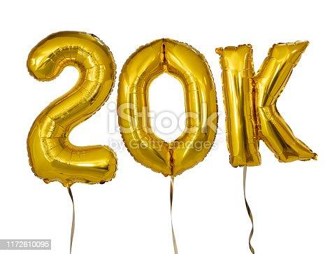 20K Balloons