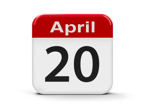 20. april - donnerstagnachmittag stock-fotos und bilder