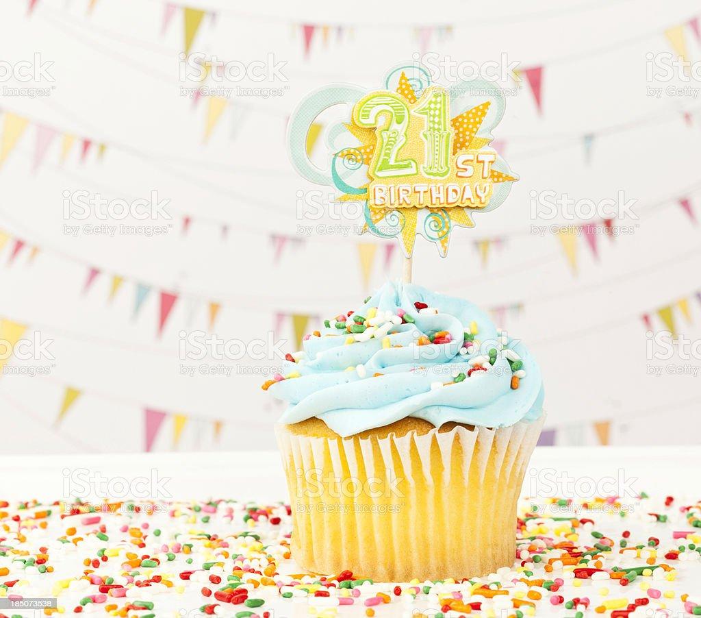 21. Geburtstag Cupcake – Foto