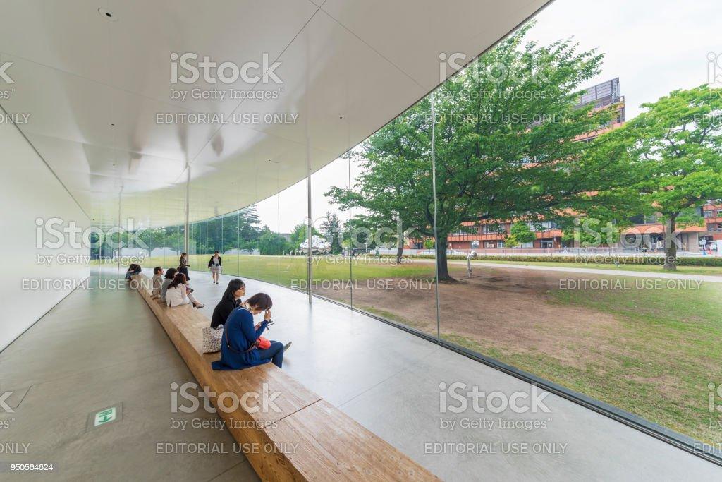 Museum des 21. Jahrhunderts in Kanazawa, Japan – Foto