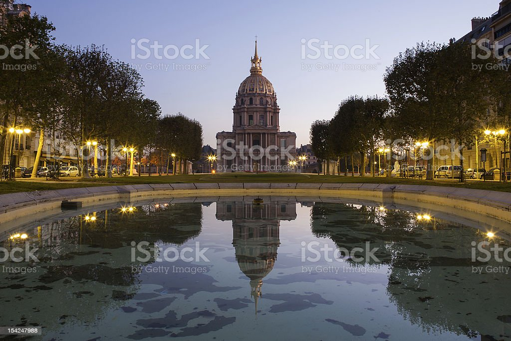 Hôtel national des Invalides, Paris, France stock photo