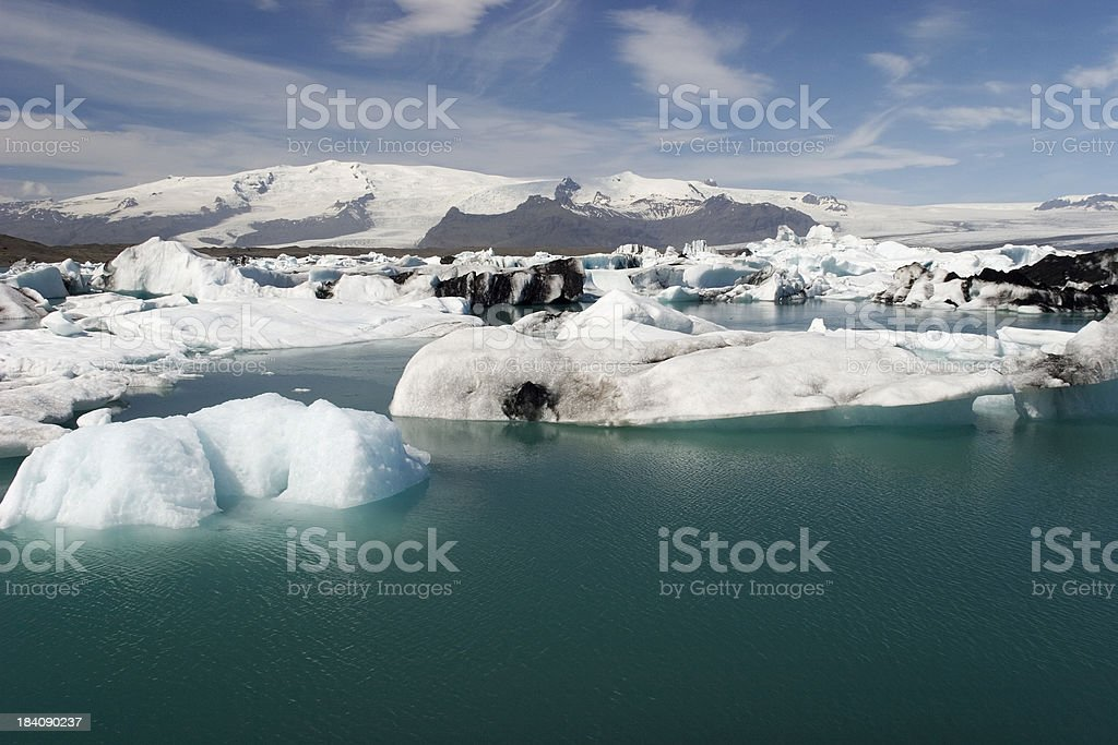 Jökulsárlón, Iceland royalty-free stock photo