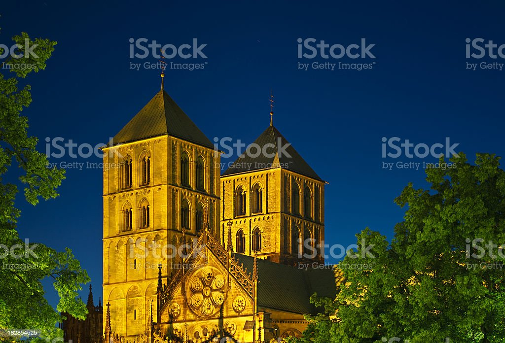 Münster Cathedral royalty-free stock photo