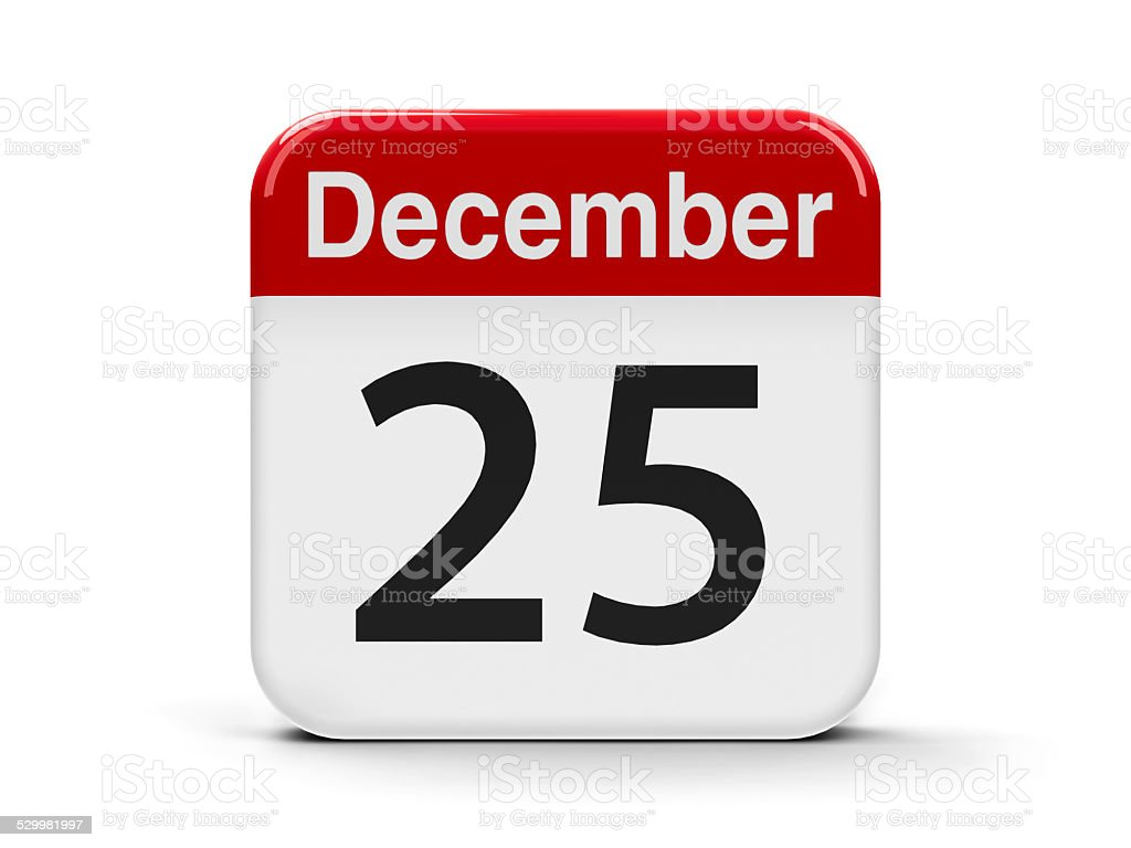 25th December stock photo
