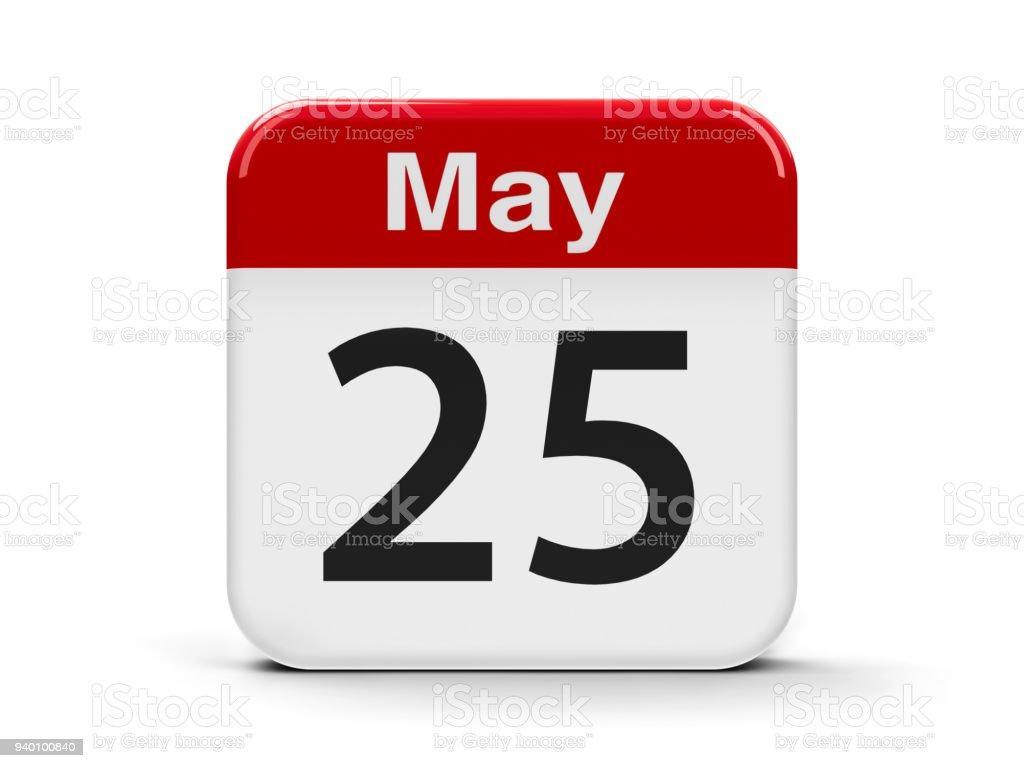 25 de mayo - foto de stock