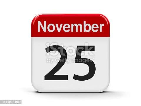 istock 25th November 1063492802
